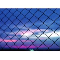 Buy cheap Heavy Duty 5 Green Vinyl Chain Link Fence With 2 Inch Aperture 3 FT Tall from wholesalers