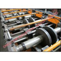 Buy cheap Galvanised Steel C Profiled Purline Roll Former Machine With Cr12 Mould Steel Rollers from wholesalers