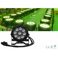 Buy cheap Rgbw 4in1 Waterproof LED Par Cans Stage Lights Battery Powered from wholesalers