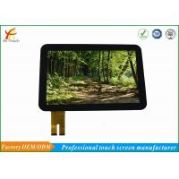 Buy cheap Transparent Glass LCD CTP Touch Screen Panel 12.1 Inch For Industrial Equipment from wholesalers