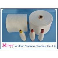 Colored Top Dyed Polyester Yarn /  Spun Polyester Sewing yarn Eco-Friendly