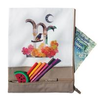 Buy cheap Eco Friendly Custom Canvas Bags Sustainable With Zipper Closure product
