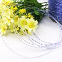 Quality SGS eco-friendly bold clear TPU plastic elastic cord for bra strap for sale