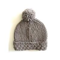China Custom OEM Hand Knit Hats Handmade Baby Beanies Crochet Caps and Photo Props for Newborns Boys & Girls Modern Natural on sale