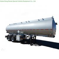 Buy cheap Stainless Steel Fuel Tank Semi Trailer With 30KL - 40K Liter Capacity 2 Axle from wholesalers