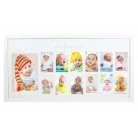 Buy cheap Nursery Deco My First Year Baby Photo Frame Shadow Box Picture Frame from wholesalers