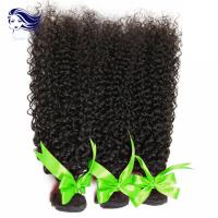 Buy cheap Kinky Curly Virgin Indian Hair Extensions Micro Weft 8A Grade Hair from wholesalers