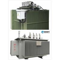 Overload Oil Immersed Transformer 10 KV - 400 KVA Oil Cooled Transformers
