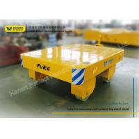 Buy cheap Yellow Die Transfer Cart Towing Trailer Platform Table For Molds Plant from wholesalers