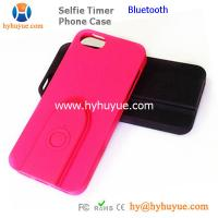 China Bluetooth Selfie Timer iPhone Case with Built-in Bluetooth Camera Shutter at factory price on sale