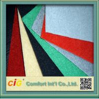Buy cheap Eco friendly Exhibition Velour Carpet Cloth for Hotel or Car Upholstery product