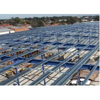 Buy cheap Hot-Rolled Industrial Steel Buildings Fabrication For Portable Cabins from wholesalers