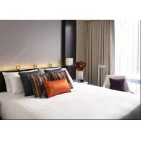Buy cheap Modern 4 Star Hotel Bedroom Furniture Sets 5 Light Lacquer Finish  MDF Panel from wholesalers