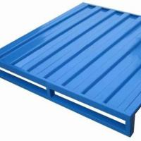 Buy cheap Transportation Stackable Steel Pallets ,   Blue Rustic Metal Stacking Pallets from wholesalers