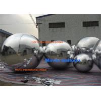 Buy cheap Popular Shining Inflation Silver Hanging Mirrored Balloon Lights Decoration For Dior Show from wholesalers