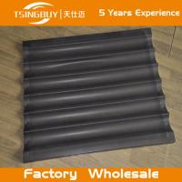 Buy cheap Factory direct wholesale bread baking aluminum sheet-baguette baking tray-teflon coated baking tray from wholesalers