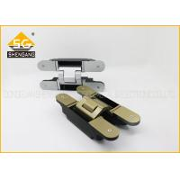 Buy cheap Metal 180 Degree 3d Concealed Adjustable Gate Hinges Heavy Duty from wholesalers
