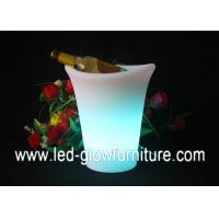 Buy cheap 16 Color Changing Light Up LED Flower Pots , illuminated lighted planter pot from wholesalers