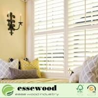 Buy cheap Vinyl Wrapped White PVC Plantation Shutters for Interior Window from wholesalers