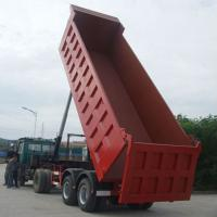 Buy cheap Mining / Construction Semi Trailer Tipper Truck from wholesalers