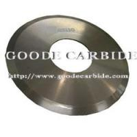 Buy cheap Tungsten carbide circular knives from wholesalers