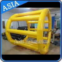 Buy cheap PVC Tarpaulin Inflatable Yellow Water Roller for Kids Pool Water Games from wholesalers