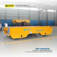 Buy cheap Large Capacity Material Track Forklift Battery Transfer Cart , Automated Guided Vehicle from wholesalers