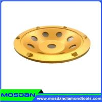 Buy cheap 7''Concrete Grinding PCD Segment Diamond Cup Wheel from wholesalers