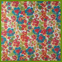Buy cheap Popular flowering prints tablecloth made of 100% polyester slub fabrics or customized fabrics from Wholesalers