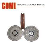 Buy cheap Hanger Roller Door Lock roller Support Roller Elevator / Escalator Rollers For LG Otis Hitachi from wholesalers