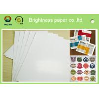 Buy cheap Specialty Full 80gsm Art Paper Rolls , Recycled Craft Paper Wood Pulp Material from wholesalers