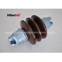 Multi Color Porcelain Suspension Insulator / Cap And Pin Insulator