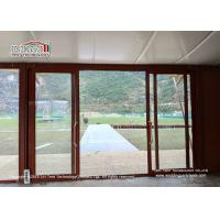 Buy cheap Customized Steel Frame 5x5m Glamping Safari Tent For Outside Event Or Hotel from wholesalers