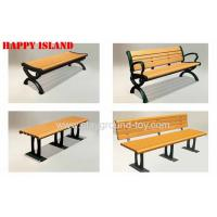 Buy cheap Wooden Garden Benches , Garden Park Bench With 150cm Or 120cm Length from wholesalers