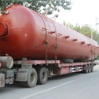 Buy cheap Chemical Cryogenic Pressure Vessel , Pressure Storage Tank Double Walled 0.8Mpa from wholesalers