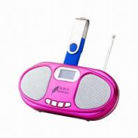 Buy cheap Pocket Radio, Supports Recording/FM Radio Functions, Anti-jamming Loudspeaker Design from wholesalers