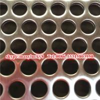 Buy cheap Stainless steel perforated metal /SS316 Perforated metal/4x8 stainless steel perforated sh from wholesalers