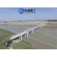 Buy cheap Steel Bailey Truss Bridge Easy Installation High Performance Stability from wholesalers