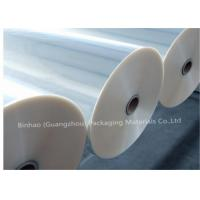 Buy cheap Thermal Lamination Transparent BOPP Film For Food Packaging 2400m - 2800m Length product