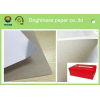 Buy cheap 250g white duplex board Grey Back Duplex Board Paper For Printing Box from wholesalers
