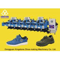 Buy cheap Two Layer Shoe Sole Mould Making Machine , Safety Shoe Making Machine Low Labour from wholesalers
