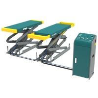 Buy cheap Double Stretched Platform Car Lifting Machine Small platform scissor lift from wholesalers
