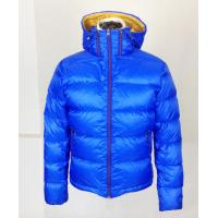 Buy cheap Large-size blue jacket Custom Sport  Jacket For Adult with adjustable hood product