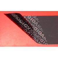 Buy cheap 36 Micron Tamper Evident Label Material Acrylics Pressure Sensitive from wholesalers