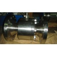 Buy cheap forged steel double flange ends ball valve(class150~2500) from wholesalers