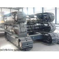 Buy cheap No wheel friction steel tracks undercarriage from wholesalers