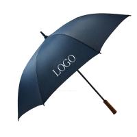 Buy cheap 120cm Windproof Straight Handle Umbrella 190T Pongee 0.4kg from wholesalers