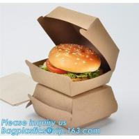 Buy cheap Custom,food grade and good printing shipping humberger box for sale,Paper bag for bread or cake or humberger bagease pac from wholesalers