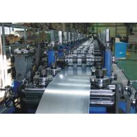 Buy cheap G.I Coil / Carbon Purlin Roll Forming Machine With Touch Screen from wholesalers