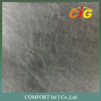 Buy cheap Classic 1.2 - 1.8mm PVC Artificial Leather for Shoes Top with Non - woven fabric Backside product